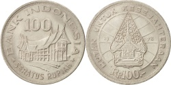 World Coins - INDONESIA, 100 Rupiah, 1978, KM #42, , Copper-Nickel, 28.5, 7.01