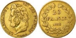 World Coins - Coin, France, Louis-Philippe, 20 Francs, 1836, Paris, , Gold, KM:750.1