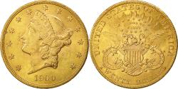 Us Coins - Coin, United States, Liberty Head, $20,1900, Philadelphia, AU(50-53), KM 74.3