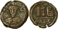 Ancient Coins - Coin, Heraclius, 12 Nummi, 618-628, Alexandria, , Copper, Sear:855