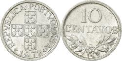 World Coins - Coin, Portugal, 10 Centavos, 1972, , Aluminum, KM:594
