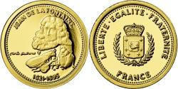 World Coins - France, Medal, Jean de la Fontaine, Arts & Culture, , Gold