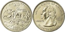 Us Coins - Coin, United States, Mississippi, Quarter, 2002, U.S. Mint, Philadelphia
