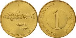 World Coins - Slovenia, Tolar, 1992, , Nickel-brass, KM:4