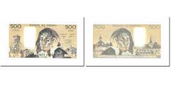 World Coins - France, 500 Francs, Pascal, 1988, 1988-03-03, UNC(63), Fayette:71.38, KM:156g