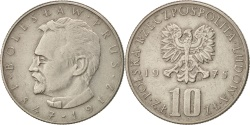 World Coins - Poland, 10 Zlotych, 1975, Warsaw, , Copper-nickel, KM:73