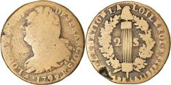 World Coins - Coin, France, Louis XVI, 2 Sols, 1792/1, Orléans, , Bronze, Gadoury:25