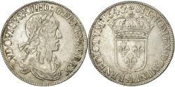 World Coins - Coin, France, Louis XIII, Écu de 60 Sols, premier poinçon de Warin, Ecu, 1642