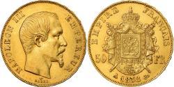 Ancient Coins - Coin, France, Napoleon III, Napoléon III, 50 Francs, 1858, Paris,