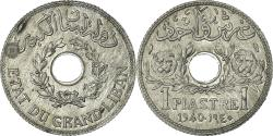 World Coins - Coin, Lebanon, Piastre, 1940, Paris, , Zinc, KM:3a, Lecompte:16