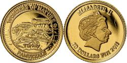 World Coins - Coin, Fiji, Elizabeth II, 10 Dollars, 2011, , Gold, KM:302