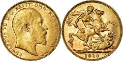 World Coins - Coin, Australia, Edward VII, Sovereign, 1910 P, Perth, , Gold, KM:15