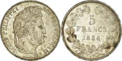World Coins - Coin, France, Louis-Philippe, 5 Francs, 1834, Bordeaux, , Silver