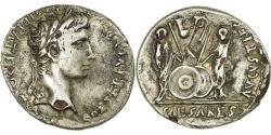 Ancient Coins - Coin, Augustus, Denarius, 2-1 BC, Rome, Fourrée, , Silver, RIC:207