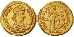Coin, Honorius, Solidus, 402-408, Ravenna, , Gold, RIC:1287