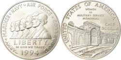 Us Coins - Coin, United States, Dollar, 1994, U.S. Mint, West Point, , Silver, KM:252