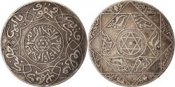 World Coins - Coin, Morocco, 'Abd al-Aziz, 2-1/2 Dirhams, 1897, Paris, , Silver