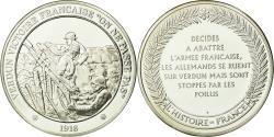 World Coins - France, Medal, Verdun , On ne passe pas, , Silver