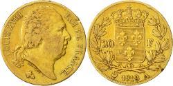 World Coins - Coin, France, Louis XVIII, Louis XVIII, 20 Francs, 1819, Paris, EF(40-45), Gold