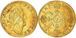 World Coins - Coin, France, Louis XIV, Louis d'or aux 4 L, Louis d'Or, 1700, Lille,