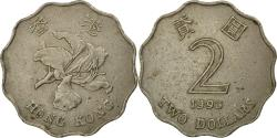 World Coins - Coin, Hong Kong, Elizabeth II, 2 Dollars, 1993, , Copper-nickel, KM:64