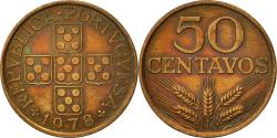World Coins - Portugal, 50 Centavos, 1978, , Bronze, KM:596