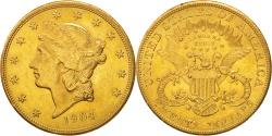 Us Coins - United States,Liberty Head,$20,1904,,Philadelphia,KM 74.3