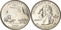 Us Coins - Coin, United States, Nebraska, Quarter, 2006, Denver, , Copper-Nickel