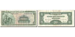World Coins - Banknote, GERMANY - FEDERAL REPUBLIC, 20 Deutsche Mark, 1949, 1949, KM:17a