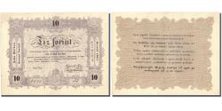 World Coins - Banknote, Hungary, 10 Forint, 1848, 1848-09-01, KM:S117, UNC(60-62)