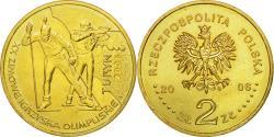 World Coins - Coin, Poland, XX ZIMOWE IGAZYSKA OLIMPIJSKIE - TURYN, 2 Zlote, 2006, Warsaw