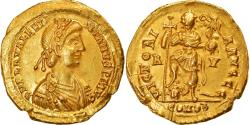 Ancient Coins - Coin, Valentinian III, Solidus, 426-430, Ravenna, Rare, , Gold
