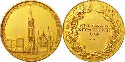World Coins - France, Medal, Société Française d'Archéologie, Monuments Historiques, 1954