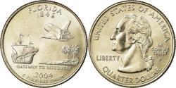 Us Coins - Coin, United States, Florida, Quarter, 2004, U.S. Mint, Philadelphia,