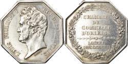World Coins - France, Token, Louis Philippe I, Chambre de Commerce d'Orléans et du Loiret