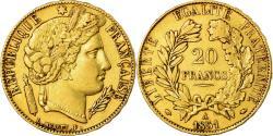 Ancient Coins - Coin, France, Cérès, 20 Francs, 1851, Paris, , Gold, KM:762