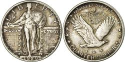 Us Coins - Coin, United States, Standing Liberty Quarter, Quarter, 1920, U.S. Mint
