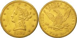 Us Coins - United States, Coronet Head, $10, 1903, San Francisco, , Gold, KM:102