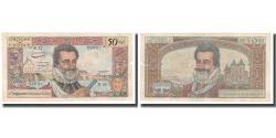 World Coins - France, 50 Nouveaux Francs, 1959, 1959-09-03, VF(20-25), Fayette:58.03, KM:143a