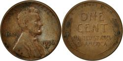 Us Coins - United States, Lincoln Cent, Cent, 1956, U.S. Mint, Denver, , Brass