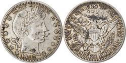 Us Coins - Coin, United States, Barber Quarter, Quarter, 1915, U.S. Mint, Philadelphia