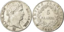 World Coins - France, Napoléon I, 5 Francs, 1813, Paris, , Silver, KM:694.1