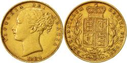 World Coins - Coin, Australia, Elizabeth II, Sovereign, 1884, Melbourne, , Gold, KM:6