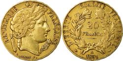 World Coins - Coin, France, Cérès, 20 Francs, 1851, Paris, , Gold, KM:762