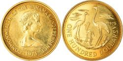 World Coins - Coin, Bahamas, Elizabeth II, 100 Dollars, 1975, , Gold, KM:72