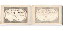 World Coins - France, 500 Livres, 1794, 1794-02-08, AU(50-53), KM:A77, Lafaurie:172