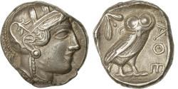 Ancient Coins - Coin, Attica, Athens, Tetradrachm, Athens, EF(40-45), Silver, SNG Cop:31