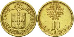 World Coins - Coin, Portugal, 10 Escudos, 1991, , Nickel-brass, KM:633
