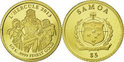 World Coins - Coin, Samoa, 5 Dollars, 2013, , Gold, KM:246