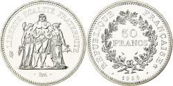 World Coins - Coin, France, Hercule, 50 Francs, 1980, Paris, , Silver, KM:941.1